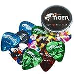 Tiger Guitar Plectrums with Pick Tin...