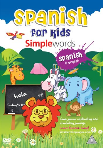 Spanish For Kids: Simple Words [DVD]