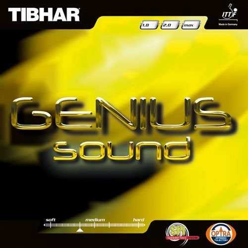 Tibhar Belag Genius Sound, 1,8 mm, rot