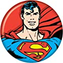 "Superman - Superman Bust - DC Comics - Pinback Button 1.25"" Bae-66"