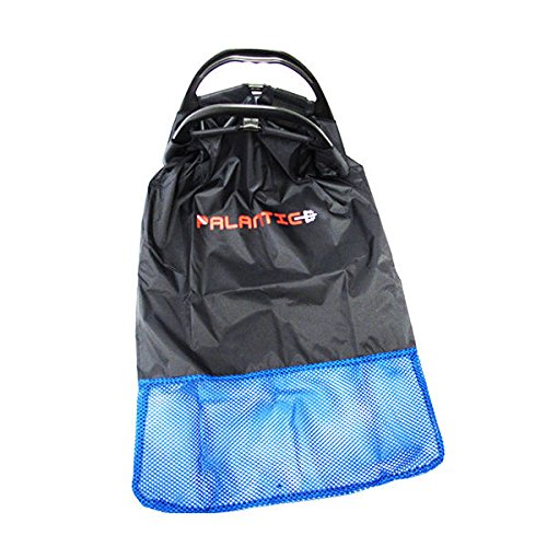 Palantic Palantic Black Lobster Fish Catch Gear Nylon Game Bag Net with Plastic Handle Game (Lobster Gear compare prices)