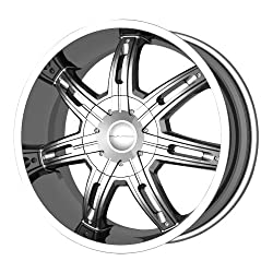 KMC Wheels Surge KM6652 Chrome Finish Wheel (22×9.5″/5x115mm)