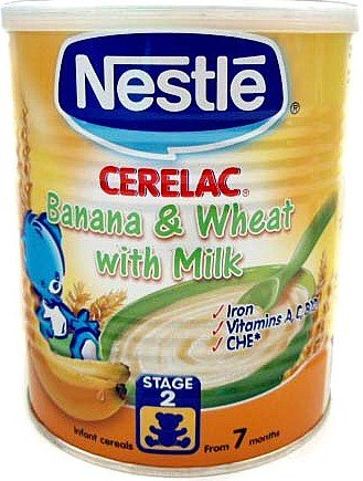 Nestle Cerelac Banana & Wheat With Milk 400G front-915116