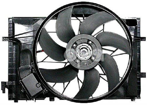 Mercedes C Class W203 01- 07 Clk 320 03 - 05 Ac Radiator Fan Assembly 2035000293 by Auto Parts Avenue
