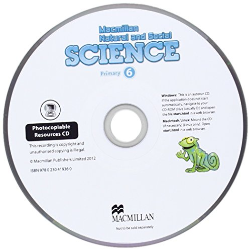 Mnss 6 Teachers Resource CD (Macmillan Natural and Social S)