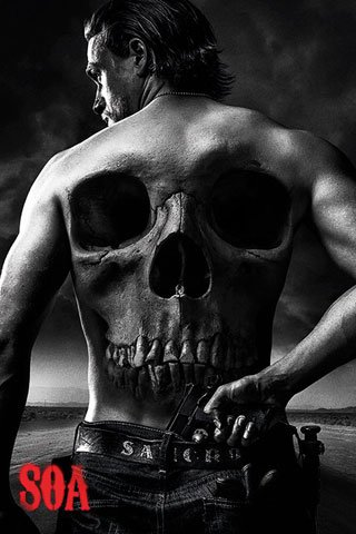 Poster Sons of Anarchy Jax Back