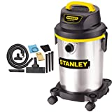 Stanley 2.8hp 4 Gallon Stainless Steel Wet/dry Vac