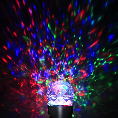 LEDGOO Waterproof Magical Spotlight Rotating Led Projector Light With Flame L