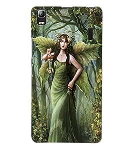 ColourCraft Graceful Angel Design Back Case Cover for LENOVO K3 NOTE