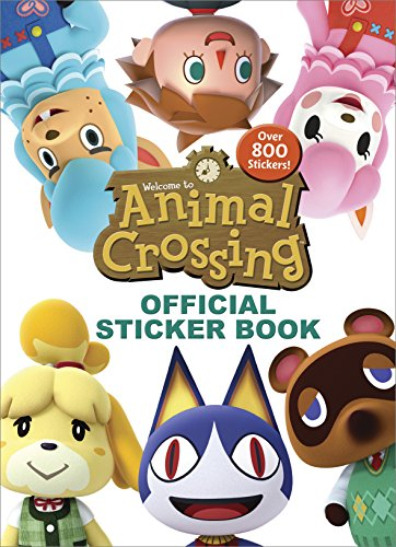 Animal Crossing Official Sticker Book (Nintendo) [Carbone, Courtney] (Tapa Blanda)