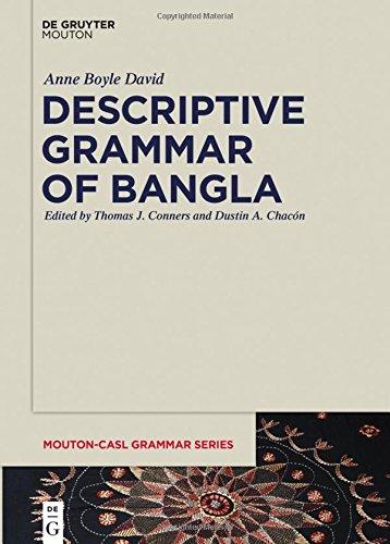 Descriptive Grammar of Bangla (Mouton-Casl Grammar Series)