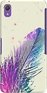 xperia z2 back case cover ,Feather Splash Designer xperia z2 hard back case cover. Slim light weight polycarbonate case with [ 3 Years WARRANTY ] Protects from scratch and Bumps & Drops.