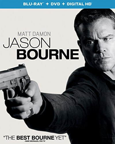 Blu-ray : Jason Bourne (With DVD, Ultraviolet Digital Copy, Digitally Mastered in HD, Snap Case, Slipsleeve Packaging)