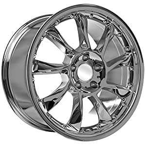 20 inch chrome amg wheels rims fits mercedes for Chrome rims for mercedes benz