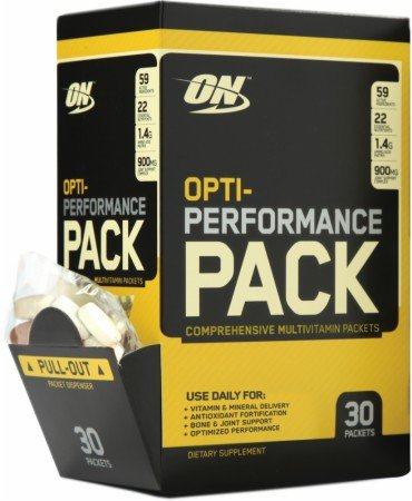 Image for Optimum Nutrition - Opti-Performance Pack