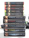 img - for Pendragon 10 Book Set: 1. Merchant of Death, 2. Lost City of Fear, 3. Never War, 4. Reality Bug, 5. Black Water, 6. Rivers of Zadaa, 7. Quillan Games, 8. Pilgrims of Rayne, 9. Ravens Rise, 10. Soldiers of Halla book / textbook / text book