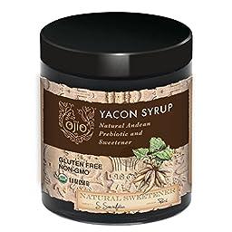 Ojio: Organic Yacon Syrup 8 Oz (2 Pack)