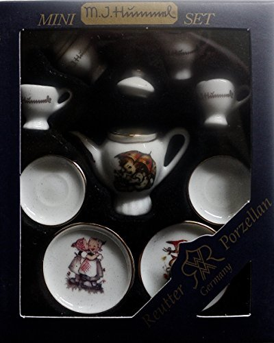 miniature-collectable-m-j-hummel-tea-set-reuter-porzellan-germany