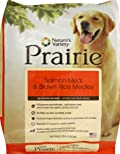 Prairie Salmon Meal & Brown Rice Medley Dry Dog Food by Nature's Variety, 30-Pound Bag