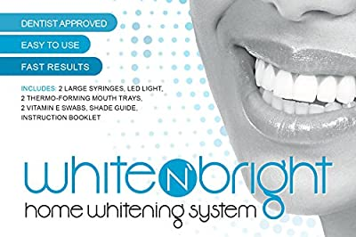 White N' Bright - Deluxe 3D At Home Teeth Whitening Kit