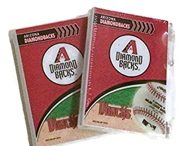 2 Pack Arizona Diamondbacks Pocket Notes