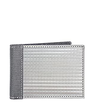 Stewart/Stand RFID Blocking Slim Bill Fold (ID), Checkered - Silver
