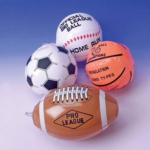 Assorted Sportsball Inflates