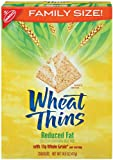 Wheat Thins, Reduced Fat, Family Size, 14.5-Ounce Boxes (Pack of 6)