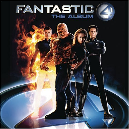 Original album cover of Fantastic Four - The Album by Various Artists