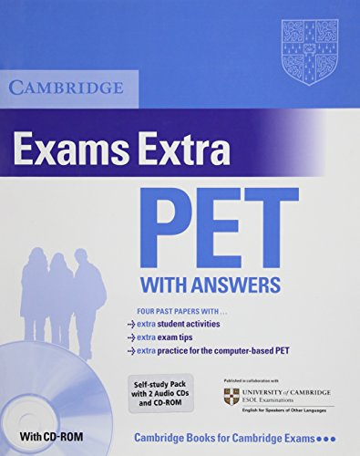 Cambridge Preliminary English Test Extra Self Study Pack (PET Practice Tests)
