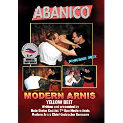 Abanico - Modern Arnis- Yellow Belt