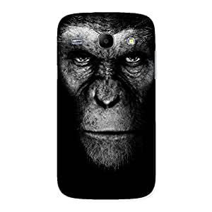 Delighted Black King Chimp Back Case Cover for Galaxy Core