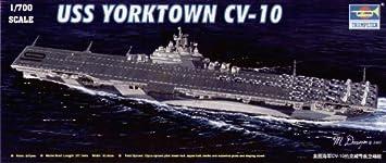 Trumpeter 1:700 - USS YORKTOWN CV-10