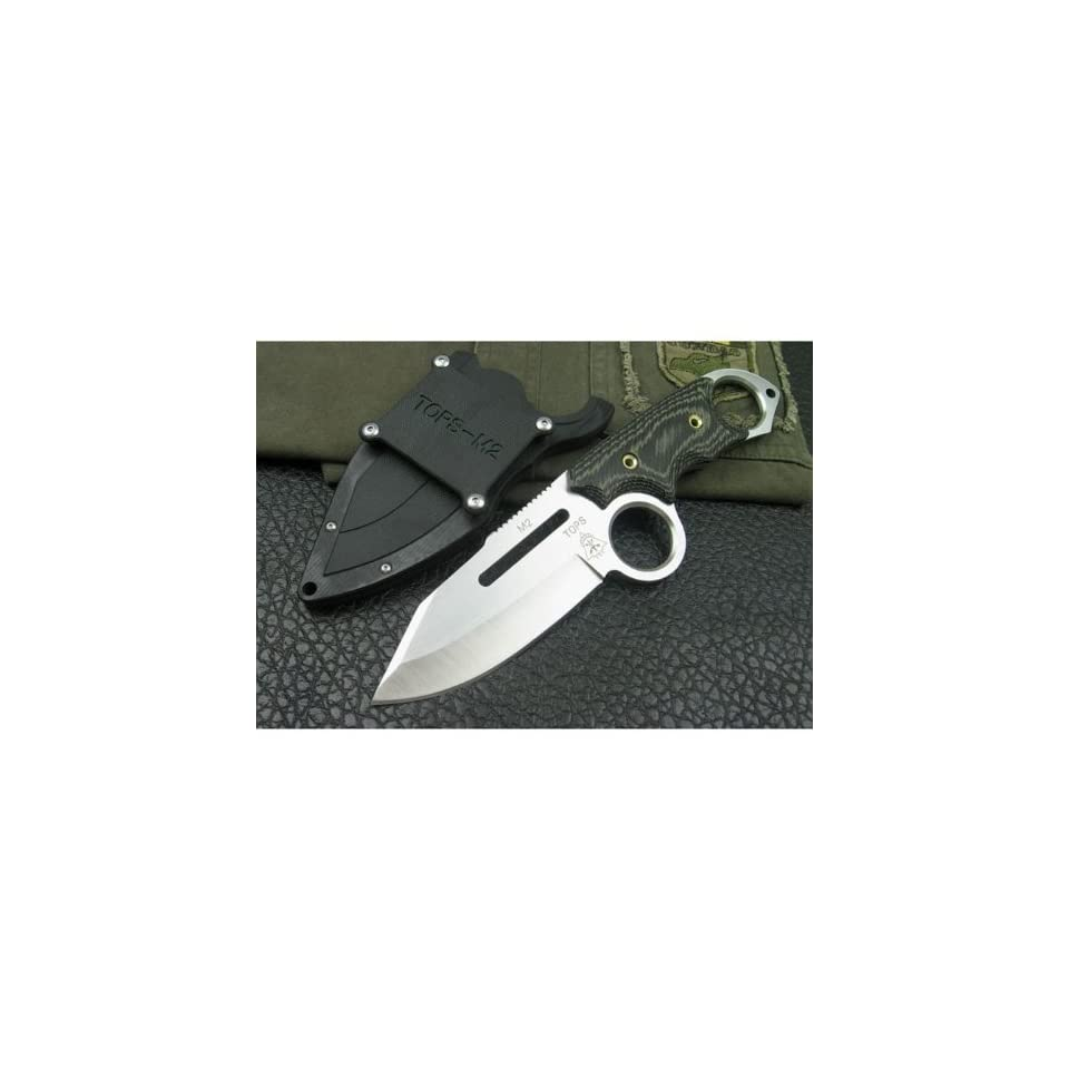 tops m2 tigershark tactical attack knife combat knife & fighting