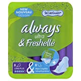 Always Freshelle Ultra Sanitary Towels Long Plus x 8