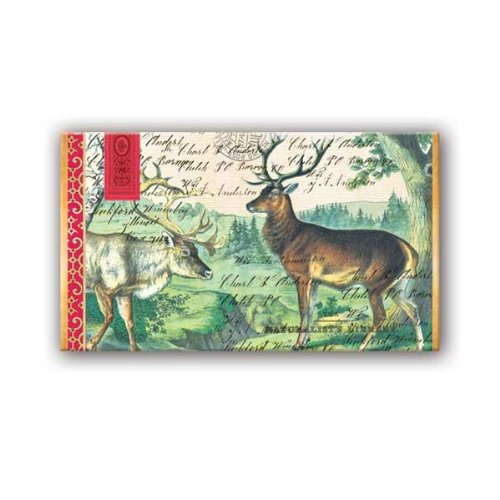 Michel Design Works Deer Matchbox 50 Count front-67168