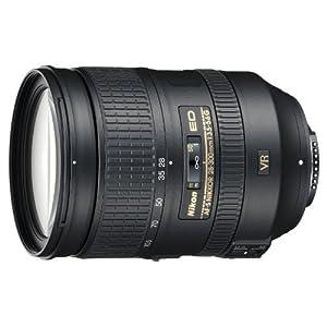 Nikon AF-S NIKKOR 28-300mm f/3.5-5.6G ED VR Standard Zoom Lens | Black
