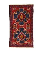 L'Eden del Tappeto Alfombra Beluchistan Multicolor 82 x 143 cm