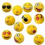 "Emoji Universe: 12"" Emoji Inflatable..."
