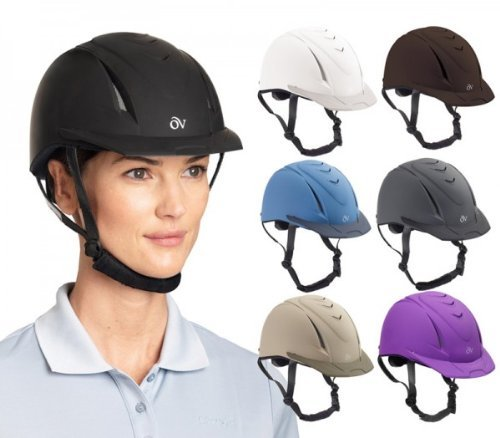 Ovation Deluxe Schooler Helmet Small/Medium Dark G