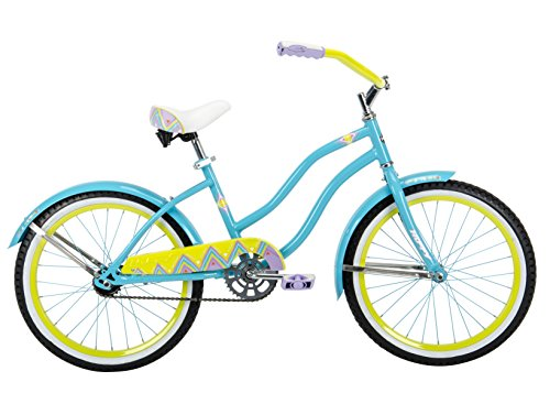 "Huffy Bicycle Company 23556 Girls Good Vibrations Bike, 20"", Blue"