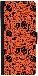 Snoogg Daily Life Patterndesigner Protective Flip Case Cover For Samsung Gala...