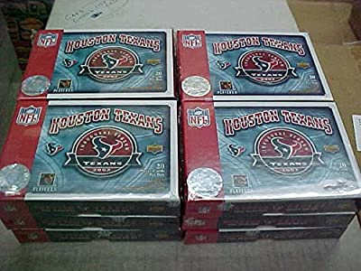 12 Sets 2002 Upper Deck Houston Texans Inagural Carr