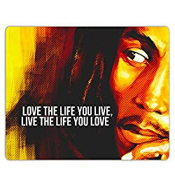 Lovely Collection Bob Marley Inspirational Quote Mousepad