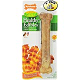 Nylabone Healthy Edibles Bacon Flavored Dog Treats (Pack of 3)