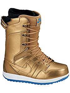 Nike Vapen Snowboard Boot - Women's Metallic Gold/Wite, 8.0
