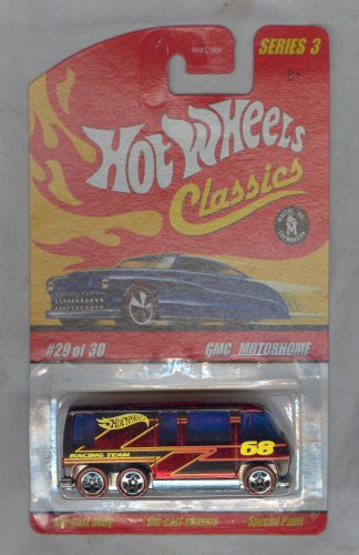 Hot Wheels 2006-29 of 30 gmc Motorhome Classics Series 3 1:64 Scale - 1