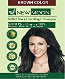 NEW MOON Noni harbal hair dyes (15 ml X 20 pcs ) Brown Color