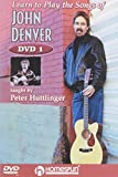 Learn to Play Songs of John Denver: Lesson 1-4 [DVD] [Import]