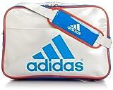 [アディダス] adidas エナメル ショルダーL Z7679 F92315 (パールメット S14/バヒアブルー S14/ハイレス レッド F13)